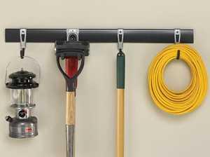 Rubbermaid 1784417 5-Piece FastTrack Storage System Kit