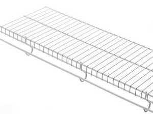 Rubbermaid 41600 6-Foot X 12-Inch FreeSlide Shelf