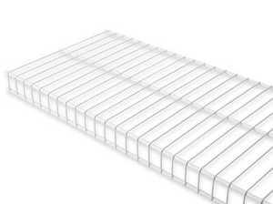 Rubbermaid 61696 8-Foot X 16-Inch White Linen Shelf