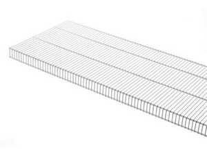 Rubbermaid 3D7500WHT 8-Foot X 12-Inch Tight Mesh Shelf