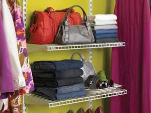 Rubbermaid 3H9103WHT White Add-On Shelving Kit