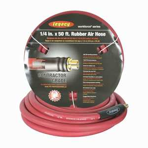 Workforce HRE1450RD2 Rubber Air Hose 1/4 in x 50 ft