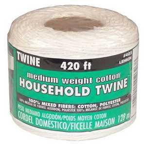 Lehigh 405HD Cotton Twine 420 Ft Medium