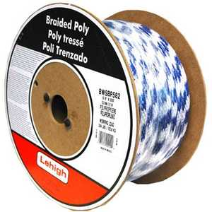 Lehigh BSBP1630 Derby Rope 1/2x300 Ft Blue Per Ft
