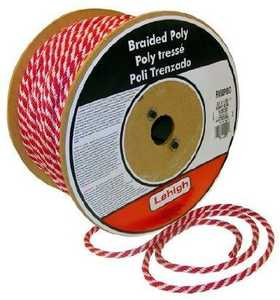 Lehigh RSBP1630 Derby Rope 1/2x300 Ft Red Per Ft