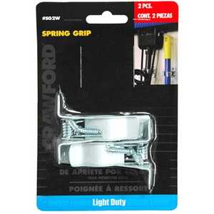 Lehigh SG2W Spring Grip 7/8 White 2ea