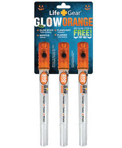 Life Gear LG180 Halloween Glow Stick 3-Pack