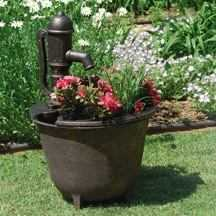 Little Giant Outdoor Living 566765 Fptc Fountain Tuscany W/120 Pump