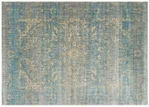 LOLOI AF-10 Anastasia Power Loomed Rug Blue /Mist 7 ft 10 in X10 ft 10 in