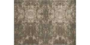 LOLOI JO-05 Journey Power Loomed Rug Dark Taupe/Multi 5 ft X7 ft 6 in
