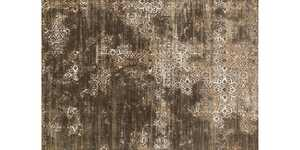 LOLOI KT-02 Kingston Power Loomed Rug Dark Taupe/Multi 7 ft 10 in X10 ft 10 in