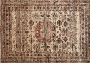 LOLOI AF-03 Anastasia Power Loomed Rug Champagne 5 ft 3 in X7 ft 8 in