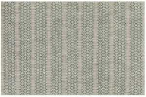 LOLOI IE-01 Isle Power Loomed Rug Grey /Teal 5 ft 3 in X7 ft 7 in