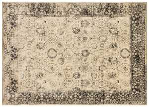 LOLOI NY-27 Nyla Power Loomed Rug Beige 7 ft 6 in X10 ft 5 in