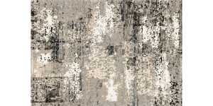 LOLOI VR-04 Viera Power Loomed Rug Grey 5 ft 3 in X 7 ft 7 in