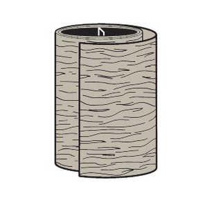 Cellwood ALATC 24N4 Pvc Trim Coil Khaki 24 in