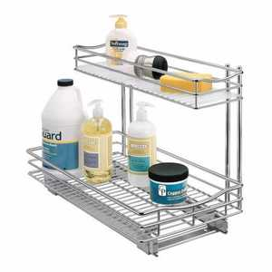 Lynk Inc 451118 Roll-Out UnderSink Drawer 11x18 With Liner