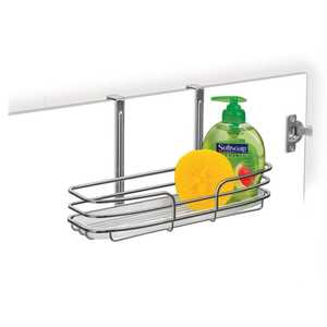 Lynk Inc 601200 One Shelf Overdoor Organizer Chrome