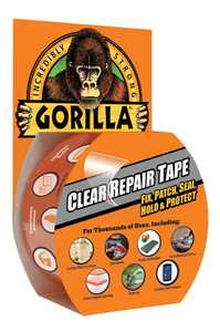 Gorilla Glue 6027003 1.88-Inch X 27-Foot Clear Repair Tape