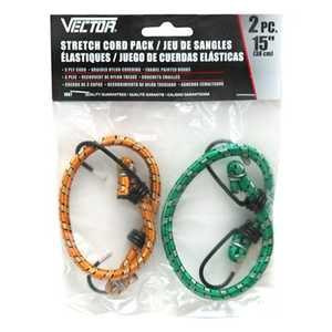 Vector 1067 Stretch Cord 15 in 2pk