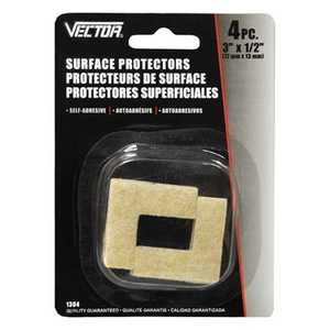 Vector 1304 Surface Protector 3x1/2 4pc