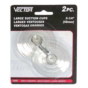 Vector 1555 Suction Cups 21/4 2pc Large