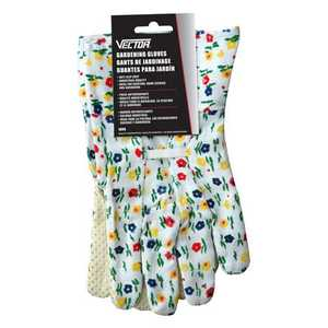 Vector 1808 Gloves Gardening Lady Floral