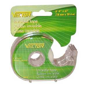 Vector 454 Tape Invisible 18mmx20.4mm