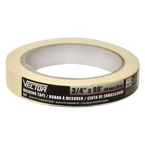 Vector 457 Tape Masking 18mmx30m