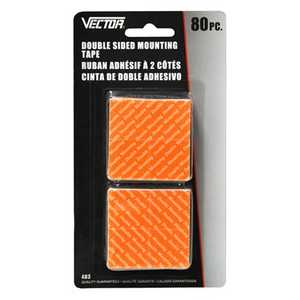 Vector 483CS Tape Mounting Double Sided 80pc C/S