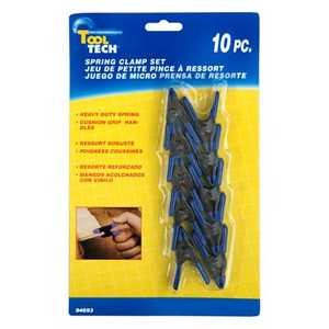 Vector 94693 Spring Clamp Set 10pc