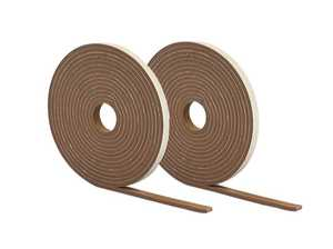 M-D Building Products 2899 High Density Foam Tape 1/4x1/2x17 Brown 2 Rolls