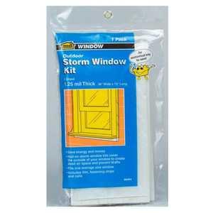 M-D Building Products 8273 Economy Storm Window Kit 4 Windows 36x72