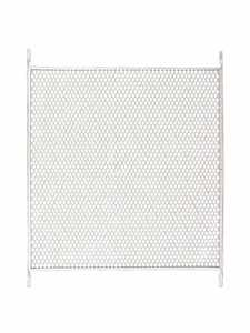 M-D Building Products 33118 Push Grille Aluminum 30-36 in White