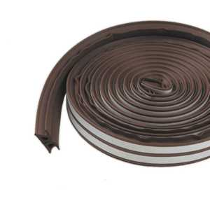 M-D Building Products 43848 All-Climate ThermaBlend (r) Weatherstrip 17 ft Brown