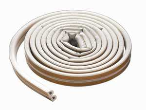 M-D Building Products 63628 Weatherstrip Epdm D Strip 17 ft White