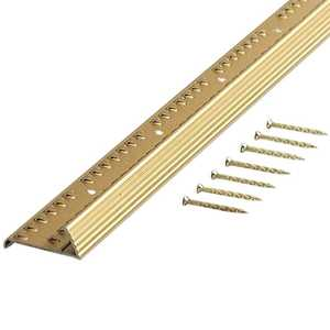 M-D Building Products 79053 Carpet Gripper With Teeth Fluted 36 in
