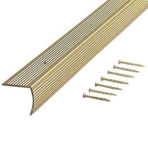 M-D Building Products 79103 Stair Edging Fluted 1-1/8 in X 1-1/8 in X 72 in