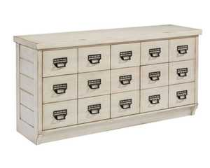 Magnolia Home 6010209G Antique White Archive Buffet /Dresser