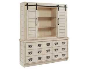 Magnolia Home 6010229G Antique White Archive Hutch