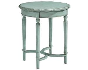 Magnolia Home 3020102D French Blue Tall Pie Crust Table