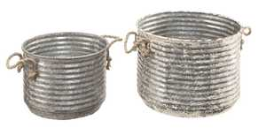 Magnolia Home 90901015 Apple Buckets With Rope Handles