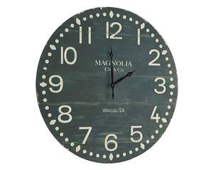 Magnolia Home 90901522 Antique Black Courthouse Clock
