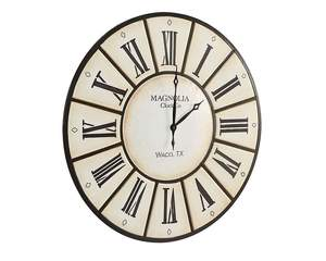 Magnolia Home 90901540 Ivory Village Clock