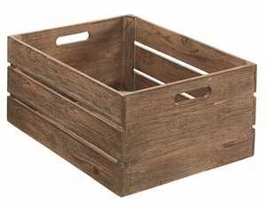 Magnolia Home 90900506 Large Wood Harvest Crate