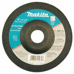 Makita 741407-8-1 Wheel Grinding 5x1/4 24grit
