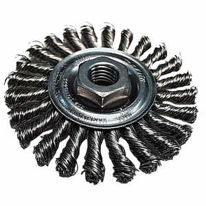 Makita 743211-A Wire Brush 4 in Cable Twist