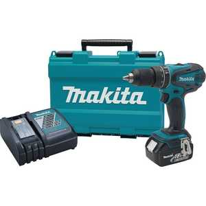 Makita XPH102 18-Volt Lxt Lithium-Ion 1/2 In Cordless Hammer Driver-Drill Kit