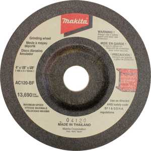 Makita 741404OFP Wheel Flex 4 in 120grit Each