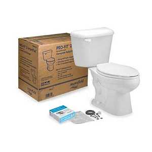 Mansfield Plumbing 4135CTK White Pro-Fit 2 Toilet